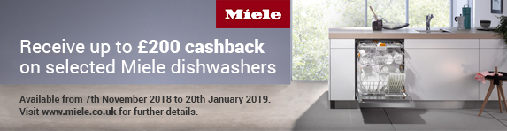 Miele Up to ?200 Cashback Dishwashers 07.11-20.01.2019