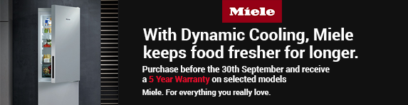 Miele 5 Year Warranty 01.04.2018 - 30.09.2018