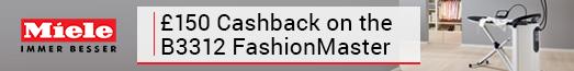 Miele £150 Cashback B3312 Fashion Master 01.10-31.03.2017