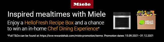 Miele - Hello Fresh Recipe Box - 31.12.2021