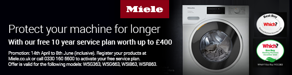 Miele - 10 year service on 9kg washers - 08.06.2021