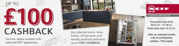 Neff - Up to ?100 Cashback - 31.08.2021