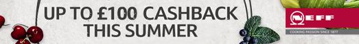 Neff Cashback Promotion 22.07.2020 - 01.09.2020