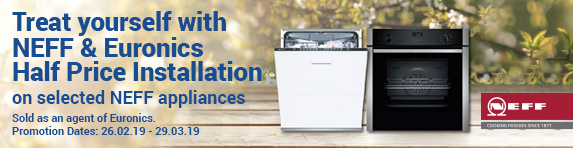 Neff Half Price Installation 26.02.2019 - 29.03.2019
