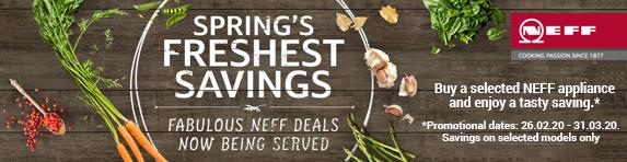 Neff Spring Sale - 26.02.2020 - 31.03.2020