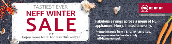 Neff Winter Sale 11.12.2019 - 28.01.2020