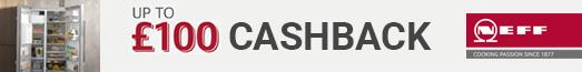 Neff - Up to £100 Cashback - 31.08.2021