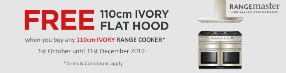 RANGEMASTER - Free Hood 110cm Ivory Range Cooker 01/10/2019 - 31/12/2019