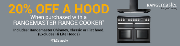 RANGEMASTER - Buy a Rangecooker and get 20% Off Matching Rangemaster Hood