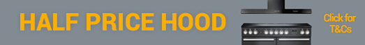 Rangemaster Half Price Hood Promotion 14.01-31.07.2019