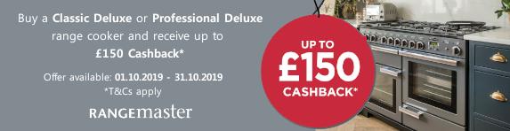 Rangemaster Cashback 01.10.2019 - 31.10.2019