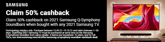 Samsung - 50% discount on soundbar with TV - 19.10.2021