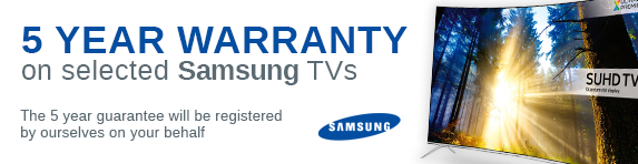 Samsung - 5 year guarantee AV - 31.12.2019