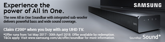 Samsung - All in One Sound Bar with any UHD TV