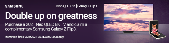 Samsung - Purchase a 2021 Neo QLED 8K TV and claim a Galaxy z Flip3