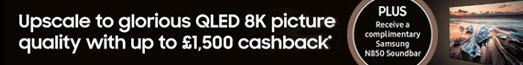 Samsung 8K Cashback Promotion
