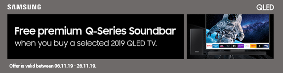 Samsung Buy a Q85 OR Q90 TV and receive a free soundbar - 06.11.2019 - 26.11.2019