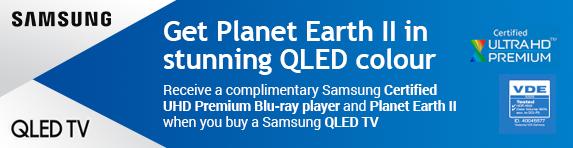 Samsung - FOC ULTRA HD Blu-Ray Player with QLED TV 2