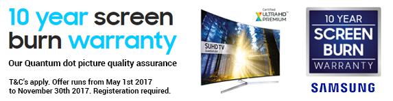 Samsung - Screen Burn Warranty