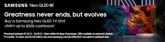 Samsung - NEO QLED Cashback - 04.05.2021