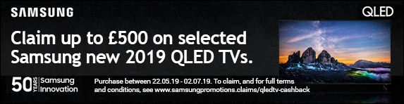 QLED Cashback 2019