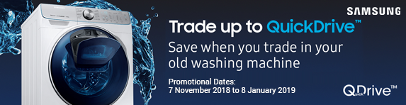 Samsung QuickDrive Trade In Reward 07.11.2018 - 08.01.2019