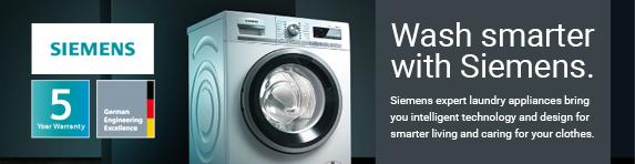 Siemens - Wash Smarter with Siemens - 31.12.2021