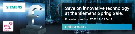 Siemens Spring Sale 27.02.2019 - 23.03.2019