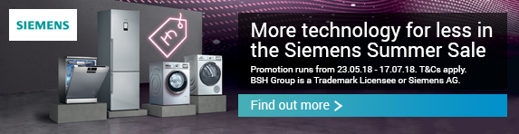 SIEMENS Summer Sale 23.05.2018 - 17.07.2018