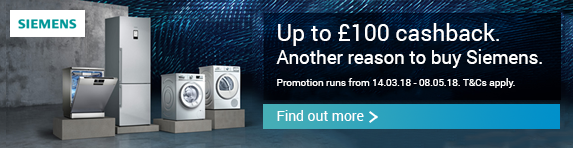 Siemens Up to ?100 Cashback Promotion
