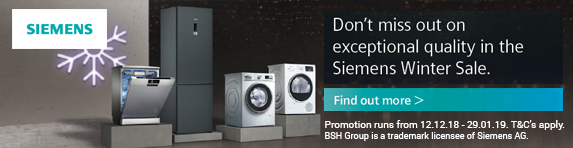 Siemens Winter Sale 12.12.2018 - 29.01.2019