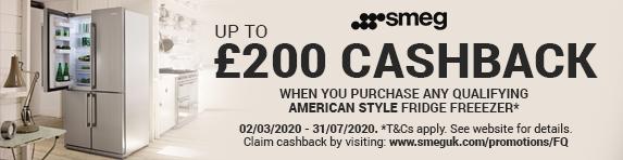 SMEG American Refrigeration Cashback Promotion