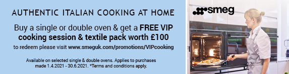 Smeg - Free VIP Cooking Session - 30.06.2021