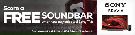 Sony - Free Soundbar with selected TVs - 13.07.2021