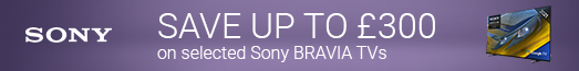 Sony - Save up to £300 on selected TVs - 07.11.2021