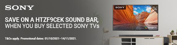 Sony - Save on HTZF9CEK - 14.11.2021
