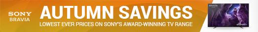 Sony Autumn Savings Promotion 23.09.2020 - 06.10.2020