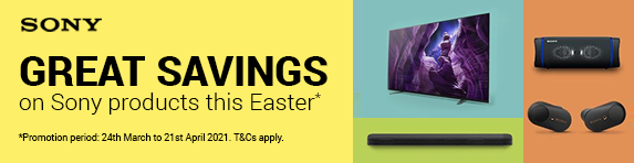 Sony - Great Savings on TVs this Easter - 21.04.2021