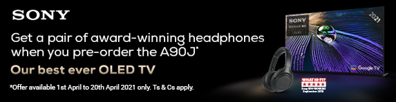 Sony - Preorder the A90J and Free Headphones - 20.04.2021