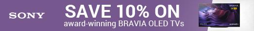 Sony - Save 10% on OLED TVs - 09.03.2021