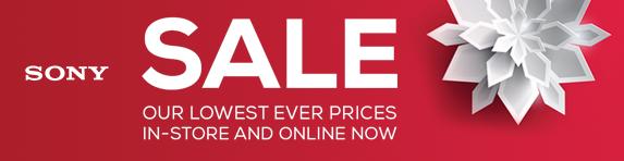Sony - Winter Sale - 19.01.2021