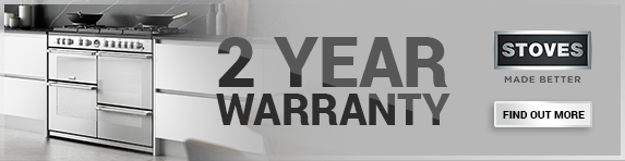Stoves 2 Year Warranty - 31.12.2020