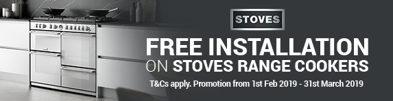 Free Installation on Stoves Range Cookers
