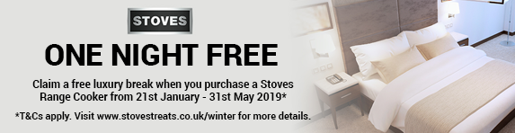 STOVES 'One Night Free'