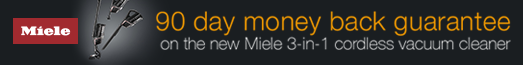 Miele - Triflex 90 day money back guarantee - 28.03.2021