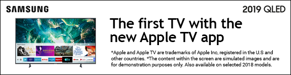 Samsung Apple TV App  RU7100, RU7400