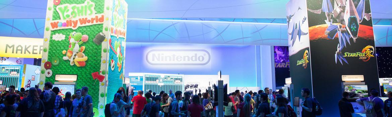 The E3 show floor