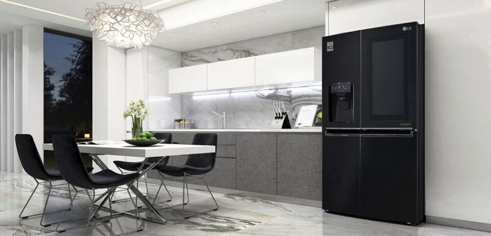 Modern Kitchen with Smart LG American Fridge Freezer