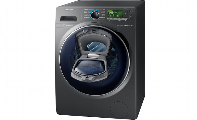 Samsung AddWash with open door