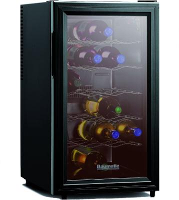 BW18BL Wine Cooler